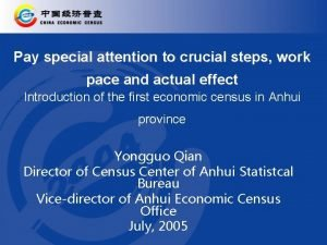 Pay special attention to crucial steps work pace