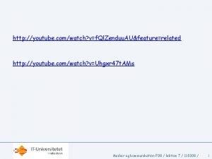 http youtube comwatch vf Ql Zenduu AUfeaturerelated http
