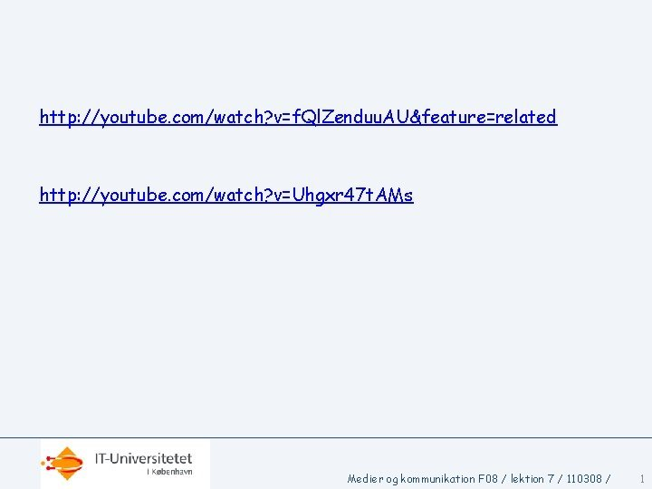 http youtube comwatch vf Ql Zenduu AUfeaturerelated http