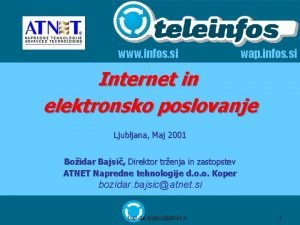 www infos si wap infos si Internet in
