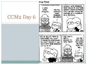CCM 2 Day 6 Knights Charge Day 5