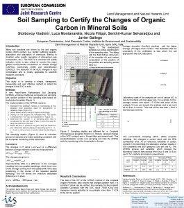 Land Management and Natural Hazards Unit Soil Sampling