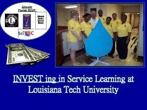 Lincoln Parish RSVP Lincoln Parish School Board INVEST