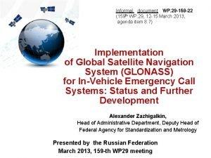 Informal document WP 29 159 22 159 th