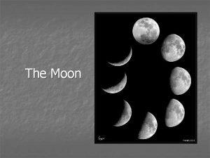 The Moon Earths Moon Whats the Moon like