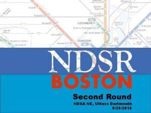 BOSTON Second Round NDSA NE UMass Dartmouth 9252015