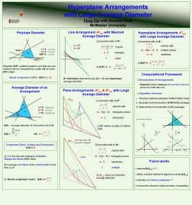 Hyperplane Arrangements with Large Average Diameter Feng Xie