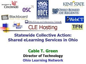 CLE Hosting Statewide Collective Action Shared e Learning