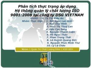 Phn tch thc trng p dng H th