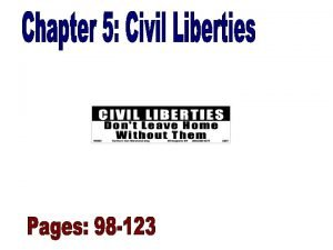 Culture and Civil Liberties Rights in Conflict Pages