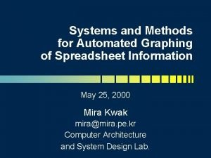 Systems and Methods for Automated Graphing of Spreadsheet