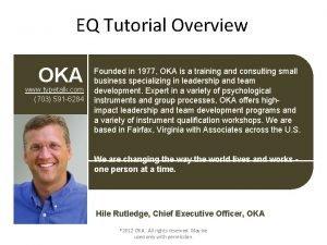 EQ Tutorial Overview OKA www typetalk com 703
