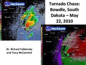 Tornado Chase Bowdle South Dakota May 22 2010