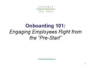 Onboarding 101 Engaging Employees Right from the PreStart