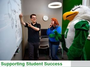 Supporting Student Success Supporting Student Success Christy Crutsinger