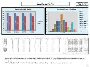 Workforce Profile Appendix 1 Workforce Profile by Quarter