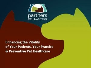 Enhancing the Vitality of Your Patients Your Practice