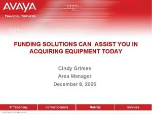 FUNDING SOLUTIONS CAN ASSIST YOU IN ACQUIRING EQUIPMENT