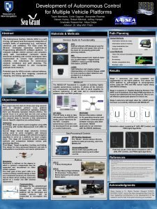 Development of Autonomous Control Autonomous Surface Vehicle for