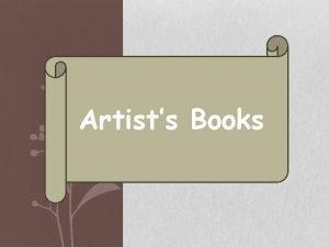 Artists Books Accordion Books Popup Books Tunnel Books