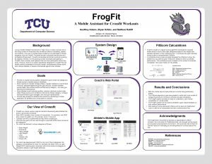 Frog Fit A Mobile Assistant for Crossfit Workouts