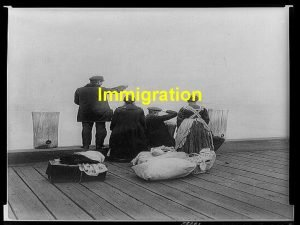 Immigration Causes Famine Land Shortages Persecution Birds of