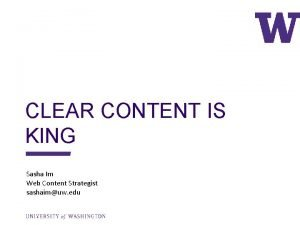 CLEAR CONTENT IS KING Sasha Im Web Content