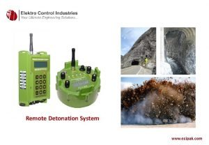 Remote Detonation System Remote Detonation System RDS System