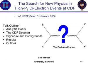The Search for New Physics in HighPT DiElectron