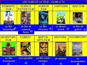 LES FILMS ET LA TL FILMS TV ROMANTIC