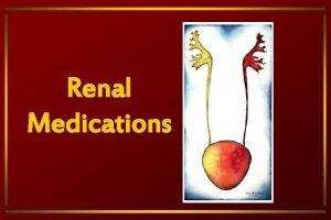Renal Medications Anemia Thiazide and Thiazidelike Diuretics Increases