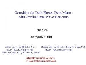 Searching for Dark Photon Dark Matter with Gravitational