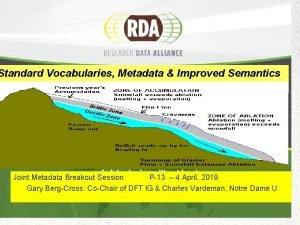 Standard Vocabularies Metadata Improved Semantics Joint Metadata Breakout