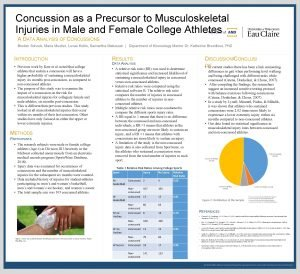 Concussion as a Precursor to Musculoskeletal Injuries in