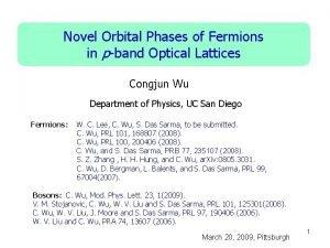 Novel Orbital Phases of Fermions in pband Optical