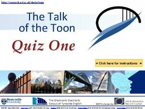 http research ncl ac ukdectetoon The Talk of