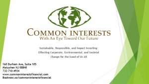 Sustainable Responsible and Impact Investing Effecting Corporate Environmental