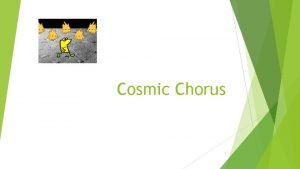 Cosmic Chorus 1 Step 1 Adding Sprites and