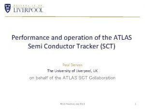 Performance and operation of the ATLAS Semi Conductor