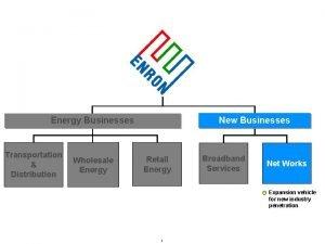 New Businesses Energy Businesses Transportation Distribution Wholesale Energy