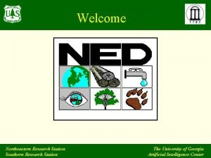 Welcome Northeastern Research Station Southern Research Station The