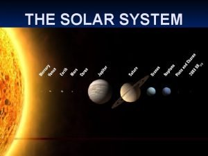 THE SOLAR SYSTEM What is GRAVITY n Gravity