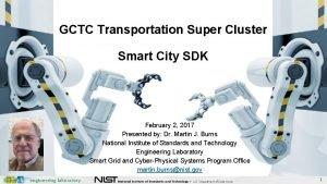 GCTC Transportation Super Cluster Smart City SDK February