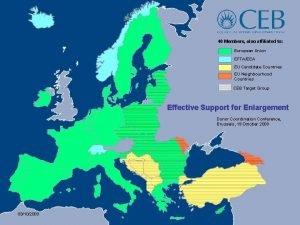 40 Members also affiliated to European Union EFTAEEA