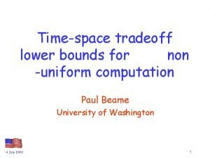 Timespace tradeoff lower bounds for non uniform computation