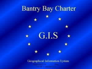 Bantry Bay Charter G I S Geographical Information