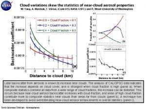 Cloud variations skew the statistics of nearcloud aerosol