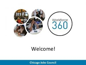 Welcome Chicago Jobs Council February 13 1991 Chicago