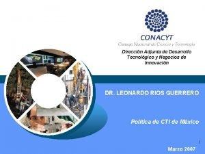 Direccin Adjunta de Desarrollo Tecnolgico y Negocios de