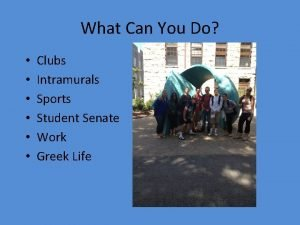 What Can You Do Clubs Intramurals Sports Student